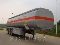Gangyue HSD9401GHY chemical liquid tank trailer