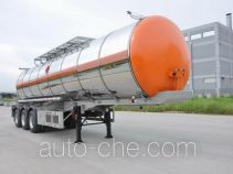 Gangyue HSD9401GRY flammable liquid tank trailer