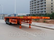 Gangyue HSD9401TPB flatbed trailer