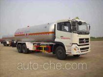 Hongtu HT5250GYQ3D liquefied gas tank truck