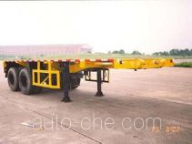 Hongtu HT9300TJZ container transport trailer