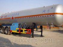 宏图牌HT9330GTR型永久气体运输半挂车