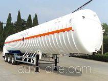 宏图牌HT9390GDY型低温液体运输半挂车