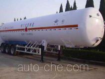 Hongtu HT9400GDYF3 cryogenic liquid tank semi-trailer