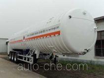宏图牌HT9400GDYF型低温液体运输半挂车
