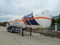 宏图牌HT9400GDYH2型低温液体运输半挂车