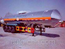 Hongtu HT9400GHY chemical liquid tank trailer