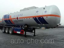 Hongtu HT9400GRY2 flammable liquid tank trailer