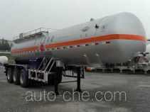 Hongtu HT9400GRY5 flammable liquid tank trailer