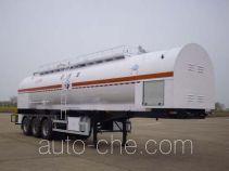Sewage suction trailer