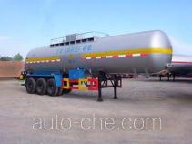Hongtu HT9401GHY chemical liquid tank trailer