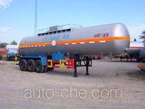 Hongtu HT9402GHY chemical liquid tank trailer