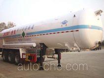 Hongtu HT9403GDY cryogenic liquid tank semi-trailer