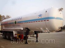 Hongtu HT9403GDY1 cryogenic liquid tank semi-trailer