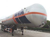 宏图牌HT9403GRY型易燃液体罐式运输半挂车
