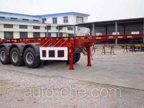 宏图牌HT9404TJZ型集装箱运输半挂车