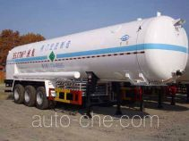 宏图牌HT9405GDY型低温液体运输半挂车