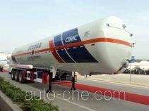 Hongtu HT9406GDYA cryogenic liquid tank semi-trailer