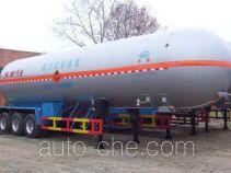 Hongtu HT9407GYQ1 liquefied gas tank trailer