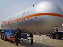 Hongtu HT9407GYQ1D liquefied gas tank trailer