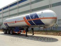 宏图牌HT9407GYQ1C型液化气体运输半挂车