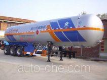 宏图牌HT9407GYQD型液化气体运输半挂车