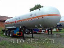 宏图牌HT9408GYQ型液化气体运输半挂车