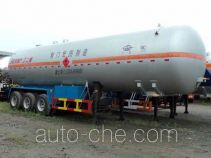 宏图牌HT9408GYQ4型液化气体运输半挂车