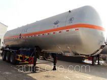 宏图牌HT9408GYQ4B型液化气体运输半挂车