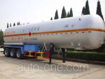 宏图牌HT9408GYQ5D型液化气体运输半挂车