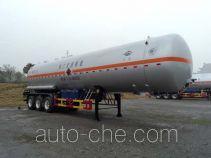 宏图牌HT9408GYQ6F型液化气体运输半挂车