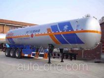 宏图牌HT9409GYQ3型液化气体运输半挂车