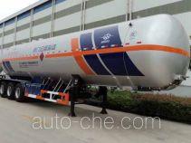 宏图牌HT9409GYQB2型液化气体运输半挂车