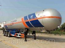 宏图牌HT9409GYQB3型液化气体运输半挂车