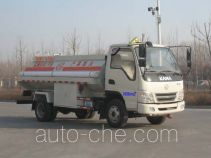 Hengtong HTC5086GJY33D4 fuel tank truck