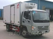 鸿天牛牌HTN5040XLC型冷藏车