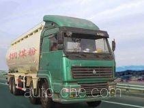 鸿天牛牌HTN5310GFL型粉粒物料运输车
