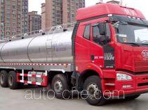 鸿天牛牌HTN5312GNY型鲜奶运输车