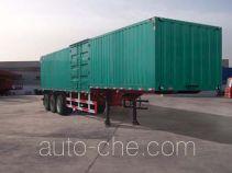 Hongtianniu HTN9320XXY box body van trailer