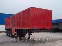 Hongtianniu HTN9390XXY box body van trailer