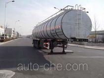 鸿天牛牌HTN9400GNY型鲜奶运输半挂车