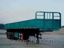 鸿天牛牌HTN9400TZX型自卸半挂车