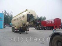 鸿天牛牌HTN9401GFL型粉粒物料运输半挂车