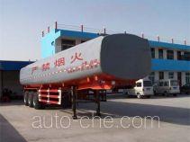 鸿天牛牌HTN9402GHY型化工液体运输半挂车