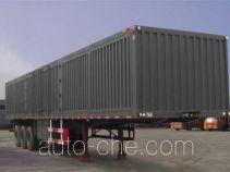 Hongtianniu HTN9402XXY box body van trailer