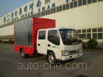 Bainiao HXC5040XWT3 mobile stage van truck