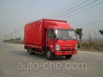 Bainiao HXC5090XCL side curtain van truck