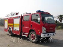 Hanjiang HXF5100GXFSG30 fire tank truck