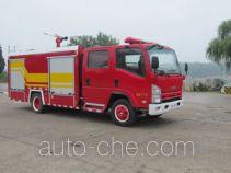 Hanjiang HXF5101GXFSG30 fire tank truck