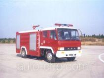 汉江牌HXF5140GXFPM50ZD型泡沫消防车